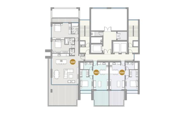Dream Tower apartment plan