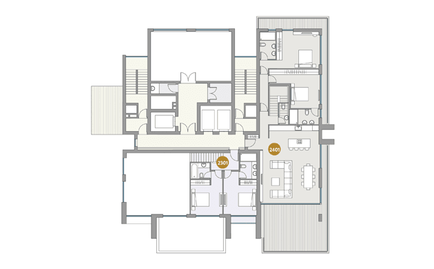 Dream Tower apartment plan